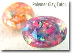 Use Iridescent Buffalo Snow Flakes to Make Faux Opals
