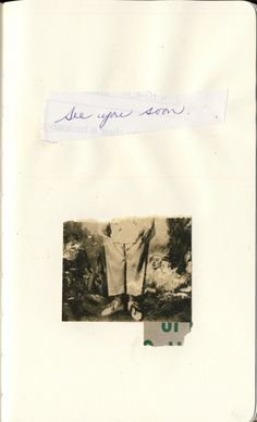 See you by Richard Leach - Richard Leach is a very talented poet and collage artist. you can see more of his artwork here richardleach.devi...