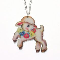 Spring Lamb Necklace