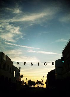 Venice Beach or my perfect JULY. Just let it happen!