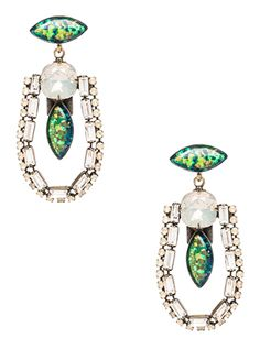 gorgeous #green jewel earrings  http://rstyle.me/n/f4n2qpdpe