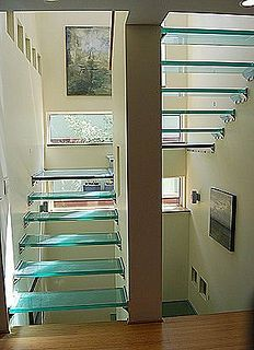 Escaleras de vidrio on pinterest glass stairs u turn and stair railing - Escaleras de vidrio ...