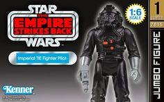 Star Wars - Gentle Giant Jumbo Kenner - Imperial Tie Fighter Pilot