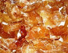 Сухое яблочное варенье
