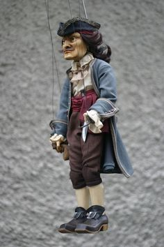 Marionette Puppet, Puppets, Toy Theatre, Puppet Show, Pirate Theme, Stop Motion, Peter Pan, Art Dolls, Woodcarving