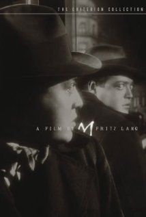 M(1931): Peter Lorre in a career defining role in this bleak, atmospheric, pessimistic en realistich crime tale of child murder and retribution.