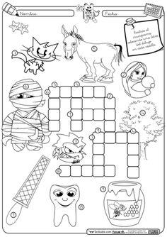 crucigramas primero de primaria - Buscar con Google