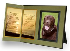 Pet Lover Remembrance Gift When Tomorrow Starts Without Me Poem Memorial Pet Loss Picture Frame Keepsake and Sympathy Gift Package with optional custom photo editing Sage Green with Foil Accent >>> Visit the image link more details.(This is an Amazon affiliate link and I receive a commission for the sales)