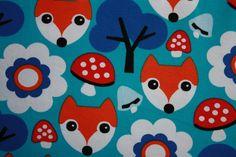 tricot lovely fox blue Kersenpitje