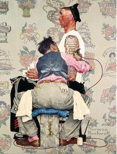 Norman Percevel Rockwell (February 3, 1894 – November 8, 1978) was a 20th-century American painter and illustrator. His works enjoy a broad popular appeal in the United States for their reflection of American culture. Rockwell is most famous for the cover illustrations of everyday life scenarios he created for The Saturday Evening Post magazine for more than four decades.