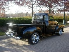 58 CHEVY 5 WINDOW TRUCK... THE VERY FIRST TRUCK I STARTED..PUSH BUTTON STARTER LOL