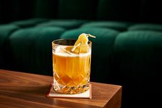 Three simple ingredients—brandy, lemon and ginger syrup—make up this refreshing brandy sour. Brandy Cocktails, Ginger Cocktails, Mezcal Cocktails, Cocktails To Try, Cocktail Recipes, Lemon Syrup, Ginger Syrup, Ginger Juice