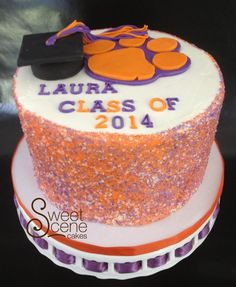 Clemson Cake Wouls LOVE To Know Who Did This I Know Some Boys Who - Clemson birthday cakes