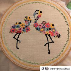 @theemptyoxobox #needlework #handembroidery #ricamo #broderie #bordado #embroidery