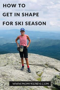 How to get in shape for ski season. #ski #health #fitness Every Mom Needs, Ski Season, Get Moving, Happy Mom, Healthy Women, Winter Sports, Get In Shape, Weight Loss Tips, Feel Good