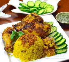 Thai Halal Chicken Rice Briyani - Khao Mok Gai by The High Heel Gourmet 20