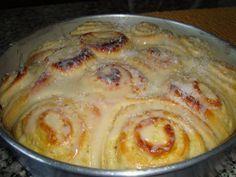 Minha arte na cozinha: Pão Doce Cremoso
