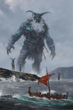 At the Edge of the World by Jakub Rozalski