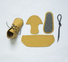 Baby First Shoes - Giallo, € 23.0 by Mirtilla (tutti i colori  1)