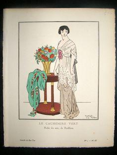 Bon Ton 1912 le cachemire vert