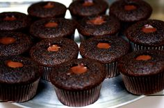 ganache-filled guinness cupcakes