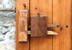 homemade Door Locks | Homemade Wooden Door Lock Design | doors ...