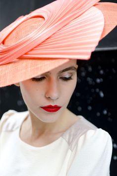 Chapeau Marie-Antoinette Corail