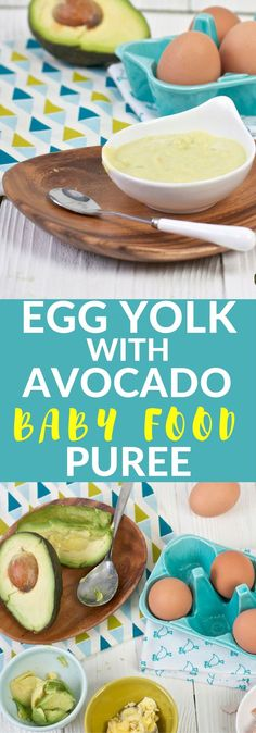 This powerhouse Egg Yolk + Avocado Baby Food Puree is filled with protein, healthy fats and a ton of essential vitamins and minerals for a growing baby. This makes a perfect (if not common) first food for baby!