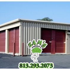 813 293 2073 Sams Movers With Storage Tampa Services Pods Crates And Climate Controlled