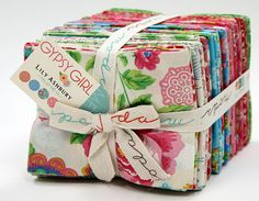 Moda GYPSY GIRL Fat Quarter Bundle By Lily Ashbury by donellefritz, $97.73