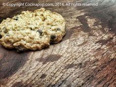 Receta para hacer galletitas de avena almendras y chocolate con los restos de la leche de almendras