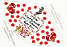 Turkey Holidays, National Holidays, School Lessons, Paper Gifts, Special Day, Preschool, Printables, Invitations, Activities
