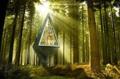 Tree-Inspired Pole House Has a Minimal Footprint to Stop Deforestation | Inhabitat - Green Design, Innovation, Architecture, Green Building