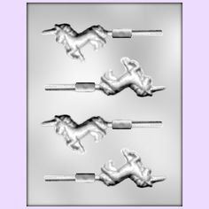 Unicorn candy mold for Ang. Layer Cake Shop