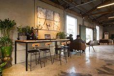 [168] 창고 개조형 카페 인테리어 / 50평 : 네이버 포스트 Bar Table, Decor, Table, Furniture, Interior, Home Decor, Coffee Shop