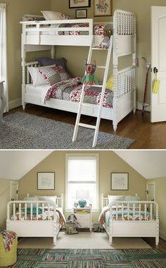 Bellamy Vintage Bunk Bed at Belfort Furniture