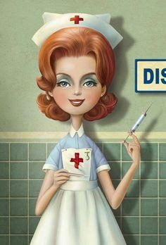 Enfermera de Nina de San