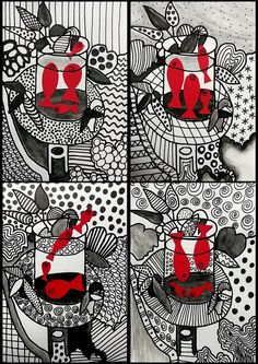 254_Noir et blanc_Du graphisme avec Matisse (53 montage 4)