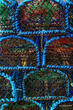 Crab/lobster pots [creels] at Anstruther Harbour, Fife, Scotland. Maisie Williams, Beach Pollution, Lobster Trap, Lobster Fishing, England And Scotland, Fife Scotland, Temple Ruins, Flotsam And Jetsam, Film Inspiration