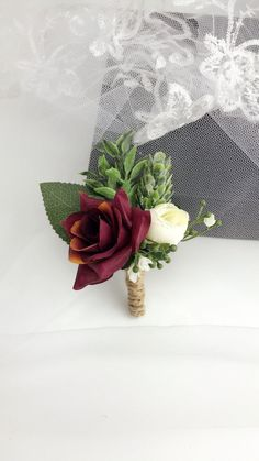 Prom Corsage And Boutonniere, Corsage Wedding, Groom Boutonniere, Boutonnieres, Flower Bouquet Wedding, Fall Wedding Boutonniere, Winter Boutonniere, Fall Wedding Groomsmen, Wedding Buttonholes