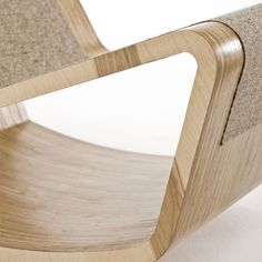 Ply Rocker And Footstool From Egg Designs – Modern Home Decor Birch Ply, Egg Designs, Rocking Chair, Modern Design, Storage, Beds, Furniture, Home Decor, Chair Swing