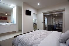 Love this master bedroom with large ensuite and alfresco access.