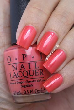 OPI, Down to the Core-al, New Brights 2015 Collection