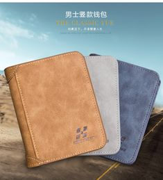 Men Wallet, Leather Wallet, Leather Fashion, Leather Men, Man Purse, Brand Names, Style Fashion, Best Gifts, Free Shipping