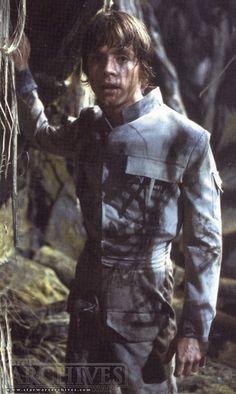 "Luke Skywalker -""Episode V: The Empire Strikes Back"" training with Jedi Master Yoda."