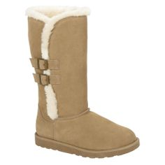 Canyon River Blues- -Women's Tan Suede Fashion Boots-Shoes-Womens Shoes-Womens Boots