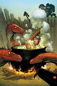 Where Monsters Dwell #4 by Frank Cho