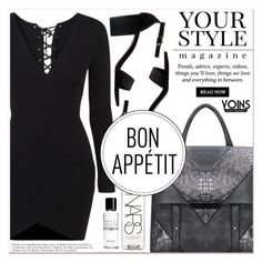 """""""# X/26 Yoins"""" by lucky-1990 ❤ liked on Polyvore featuring Pussycat, NARS Cosmetics and Bobbi Brown Cosmetics"""
