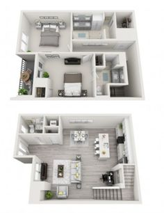 If you haven't checked out our floorplans, now's the time to do so! What will it be - a one or two bedroom? 500harbourisland.com/floor-plans