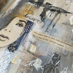 Art Journal Inspiration from Guest Artist Ivy Newport